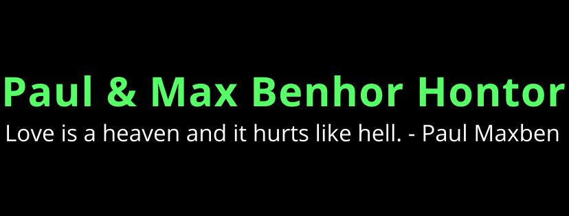 Paul & Max Benhor Hontor
